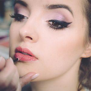 Working On Bridal Makeup